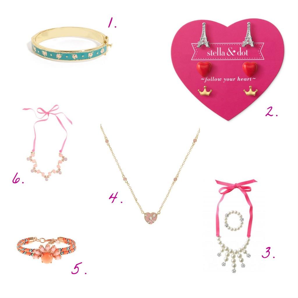 stylish girls' jewelry