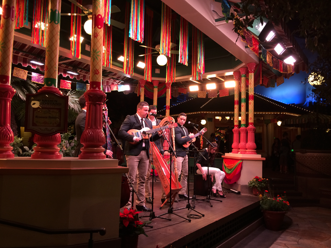 viva navidad at California Adventure