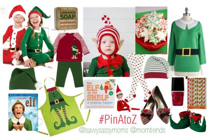 Elves Inspiration Board #pinAtoZ