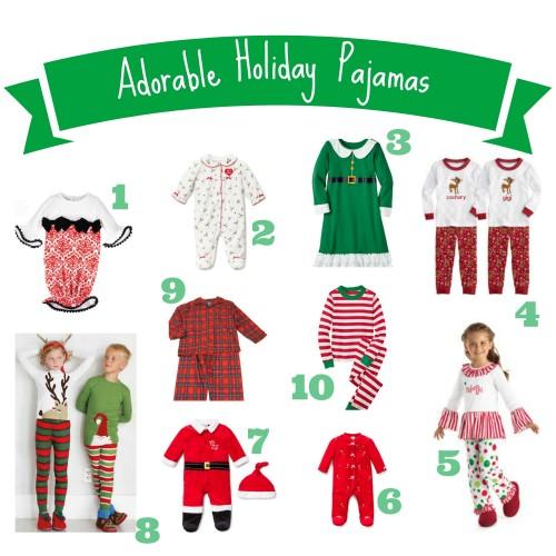 f415301193 Adorable Holiday Pajamas for Kids - Savvy Sassy Moms
