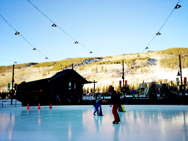 Dercum Square Ice Rink
