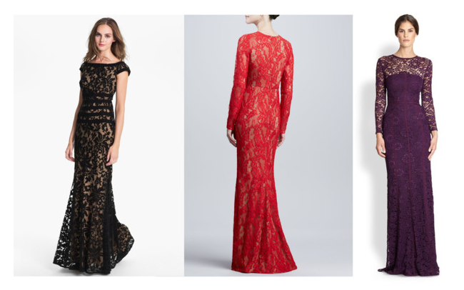 Lace Red Carpet Gowns