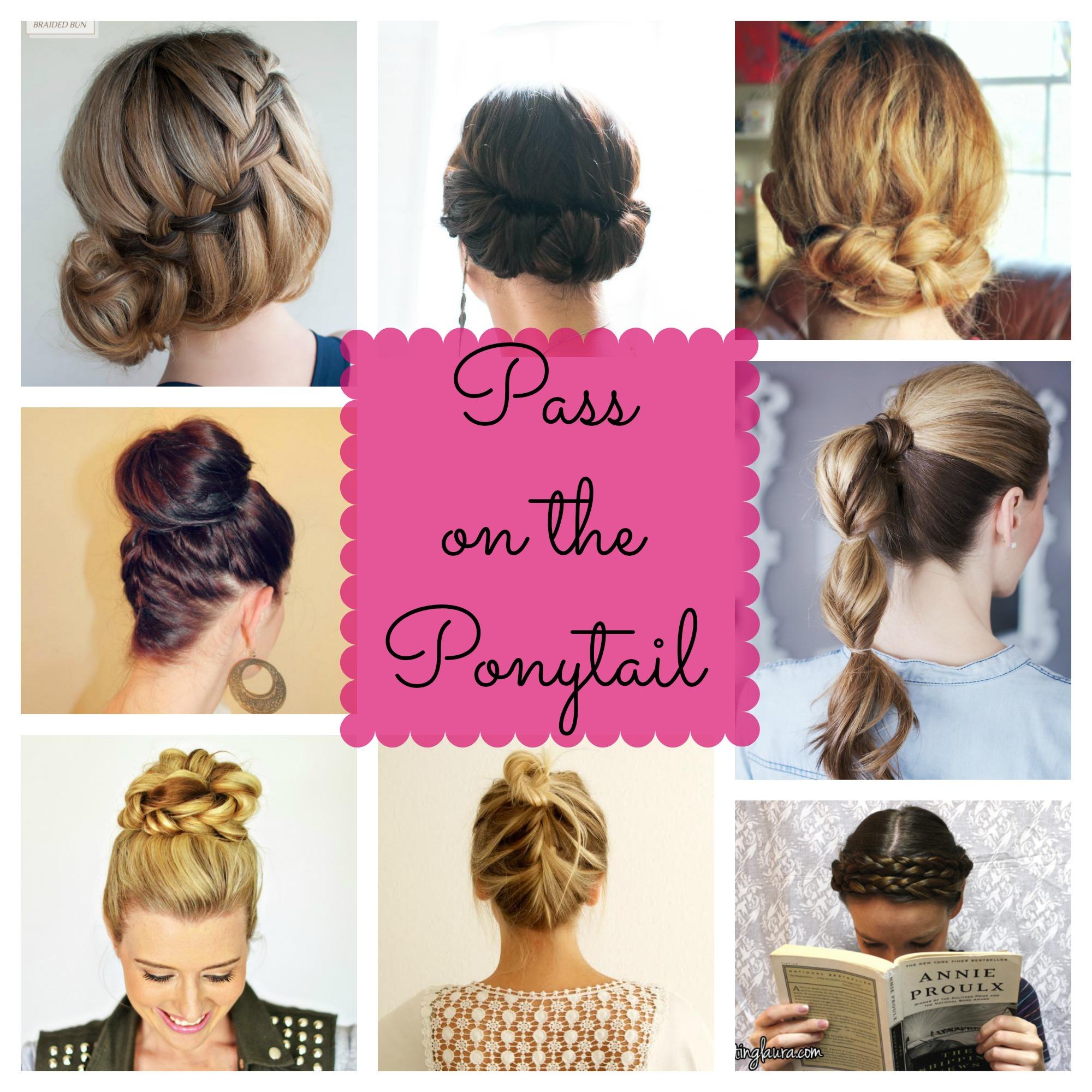 alternatives to ponytails