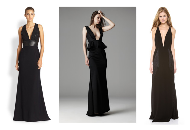 V-Neck Plunging Dresses