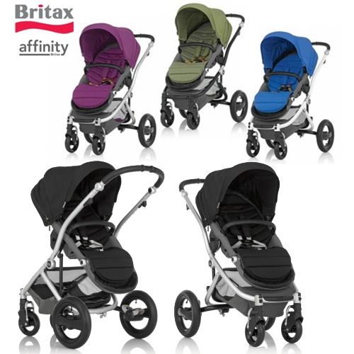 The new Britax Affinity convertible stroller.