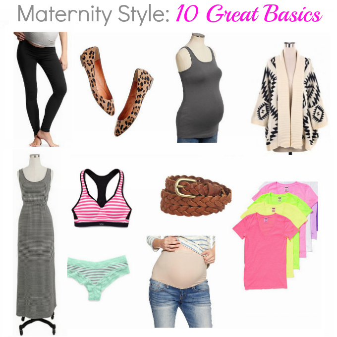 maternity style 10 great basics