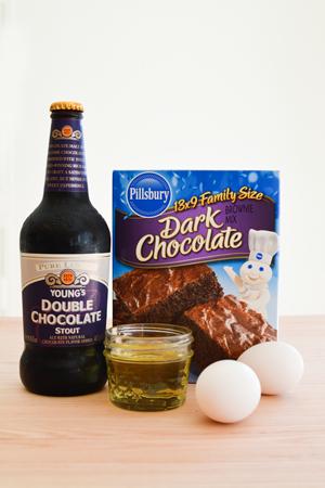 stout-brownie-ingredients