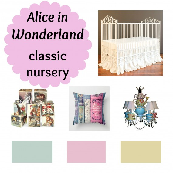 Alice in Wonderland nursery