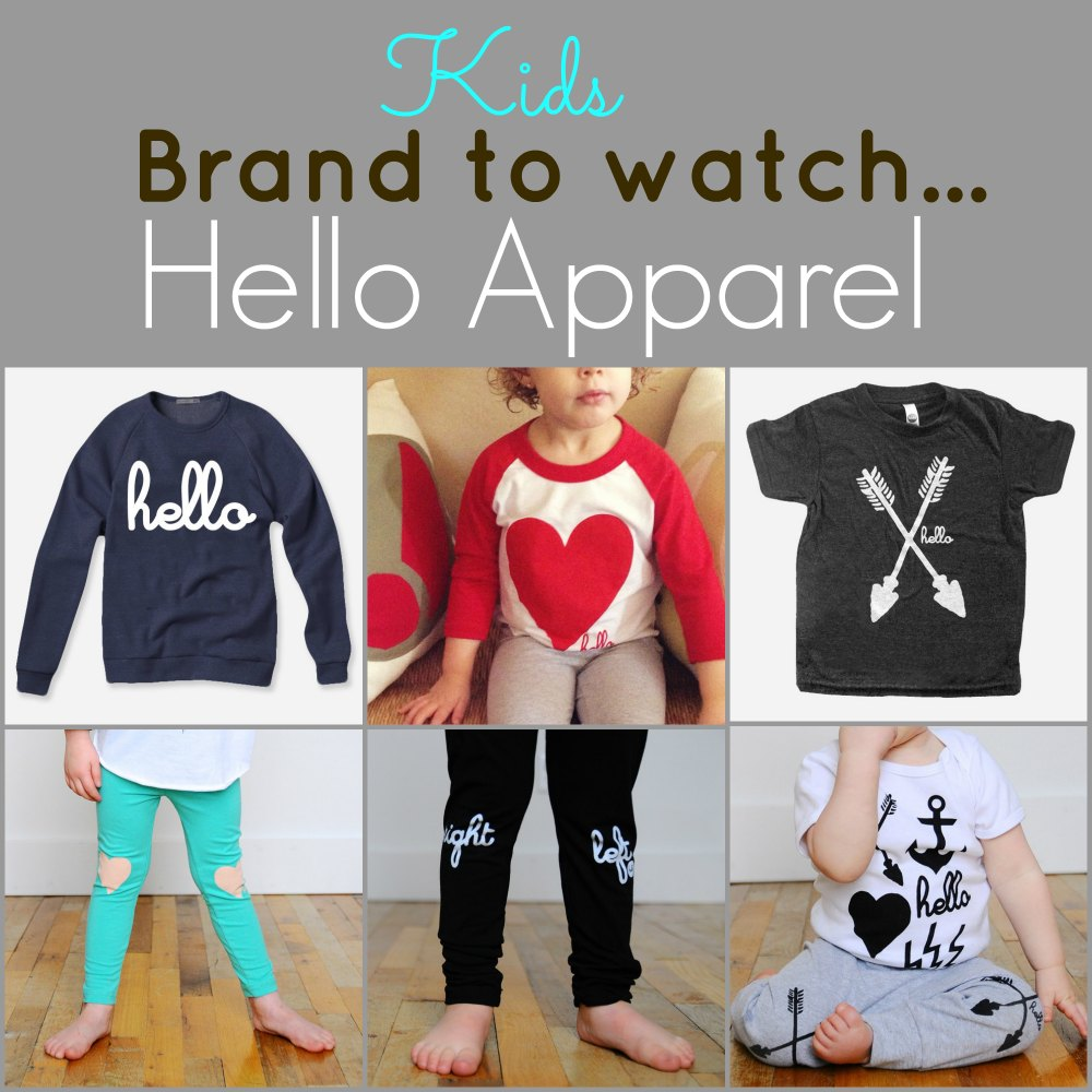 Hello Apparel for Kids