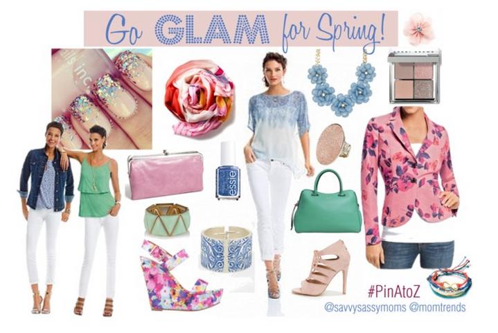 Go GLAM for Spring 2014 #PinAtoZ
