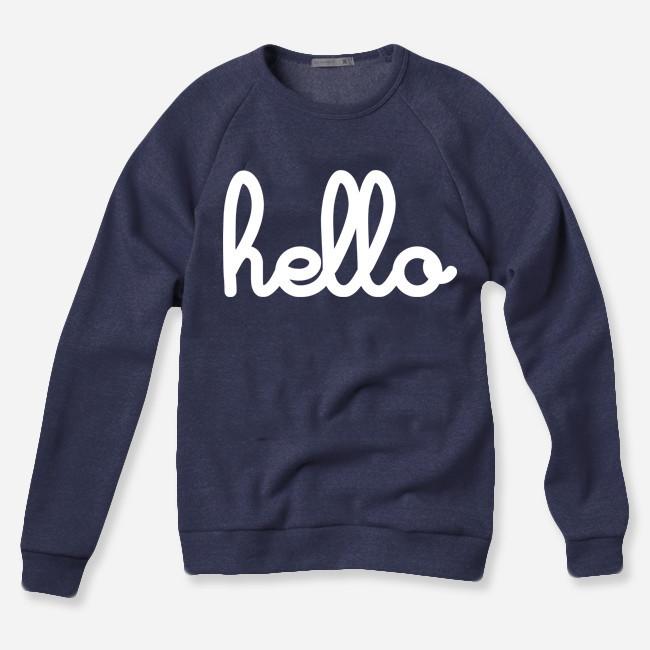 Hello Apparel Pullover Sweatshirt
