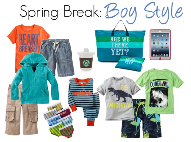 Spring Break Boy Clothing