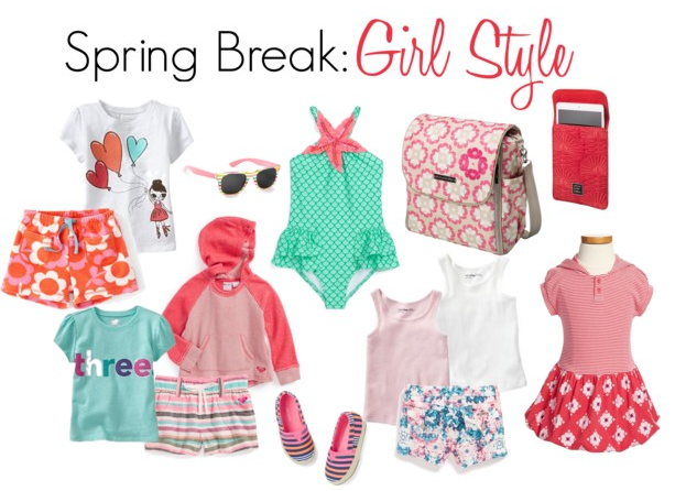 girls Spring Break Clothing