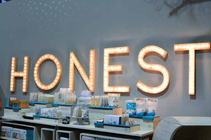 Honest Company products for party favors
