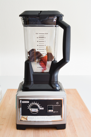 The Ninja Blender is awesome for making smoothies and other recipes.