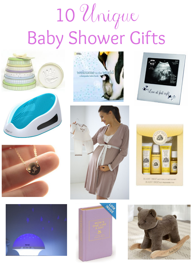 10 unique baby shower gifts