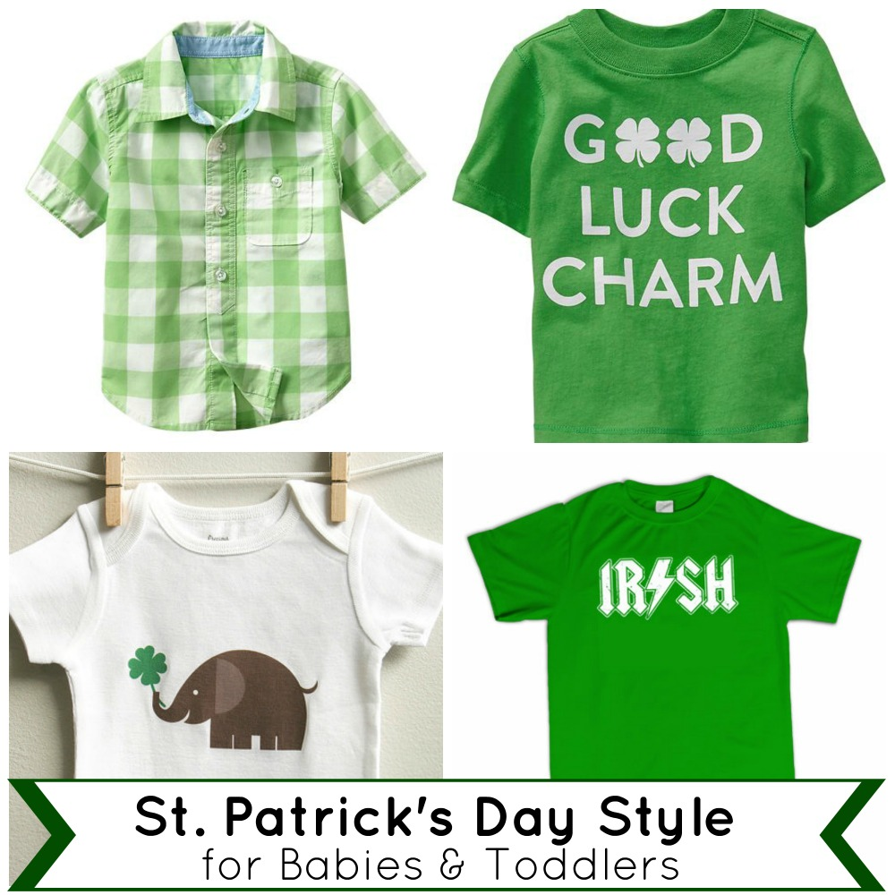 St. Patrick's Day Style for Babies and Toddlers