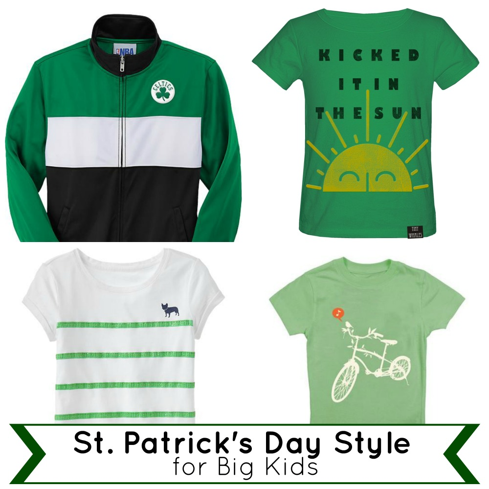 St. Patrick's Day Style for Big Kids