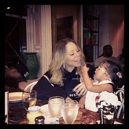 Celebrity kids with glasses - Monroe Cannon, Mariah Carey