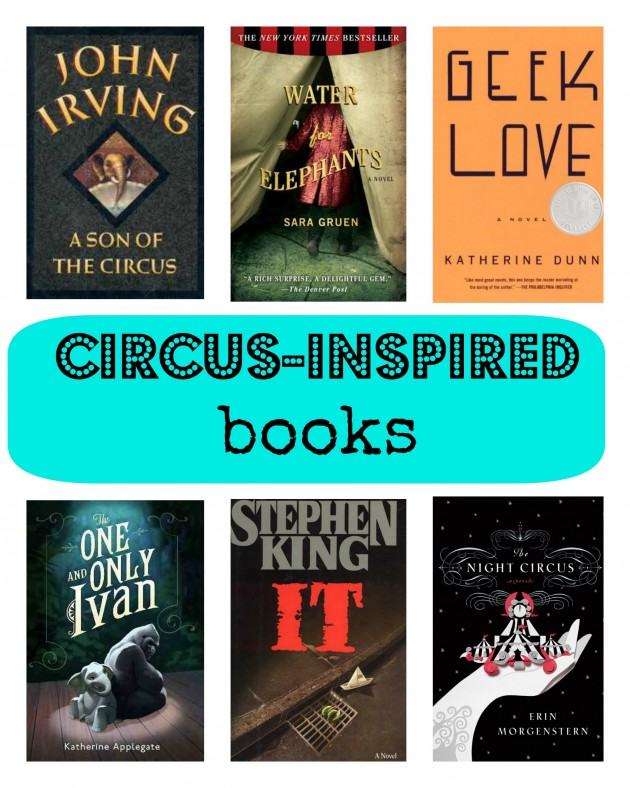 circus-inspired books