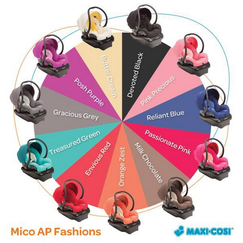 Maxi Cosi Wheel of Style and Color
