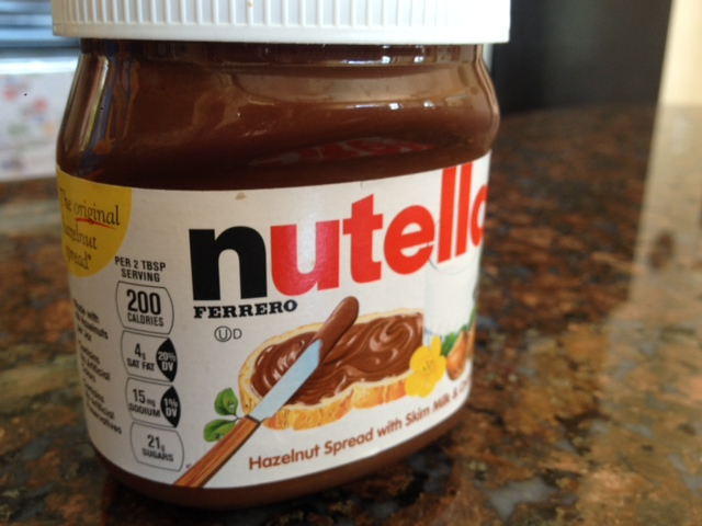 Nutella Facts up Front, Nutella