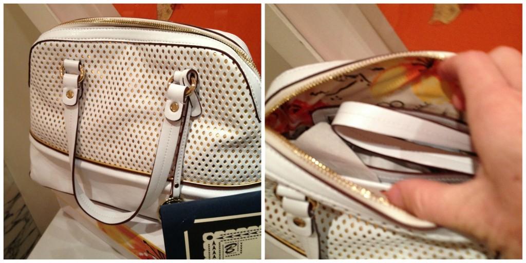 bromstad for naturalizer vida handbag exterior and interior