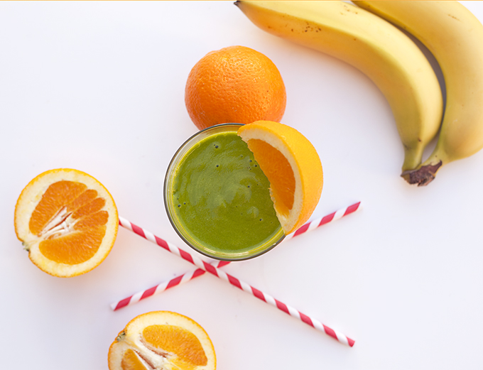 spinach orange smoothie recipe