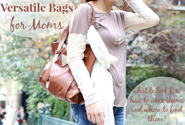 versatile bags for moms