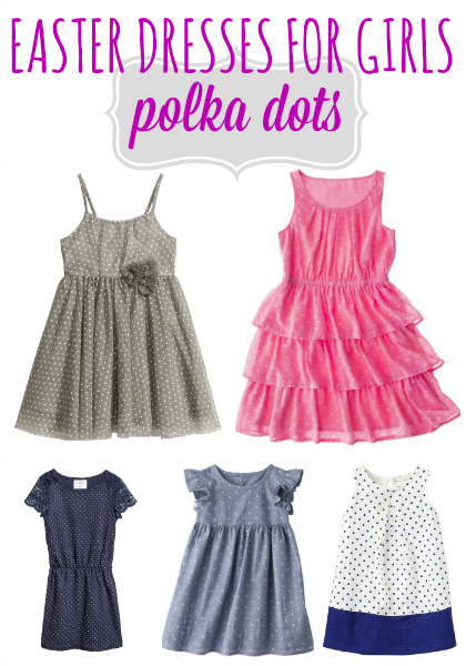Polka Dot Easter Dresses