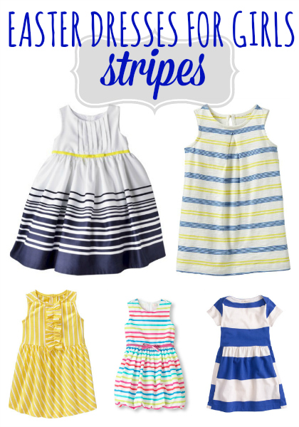 Striped Easter Dresses
