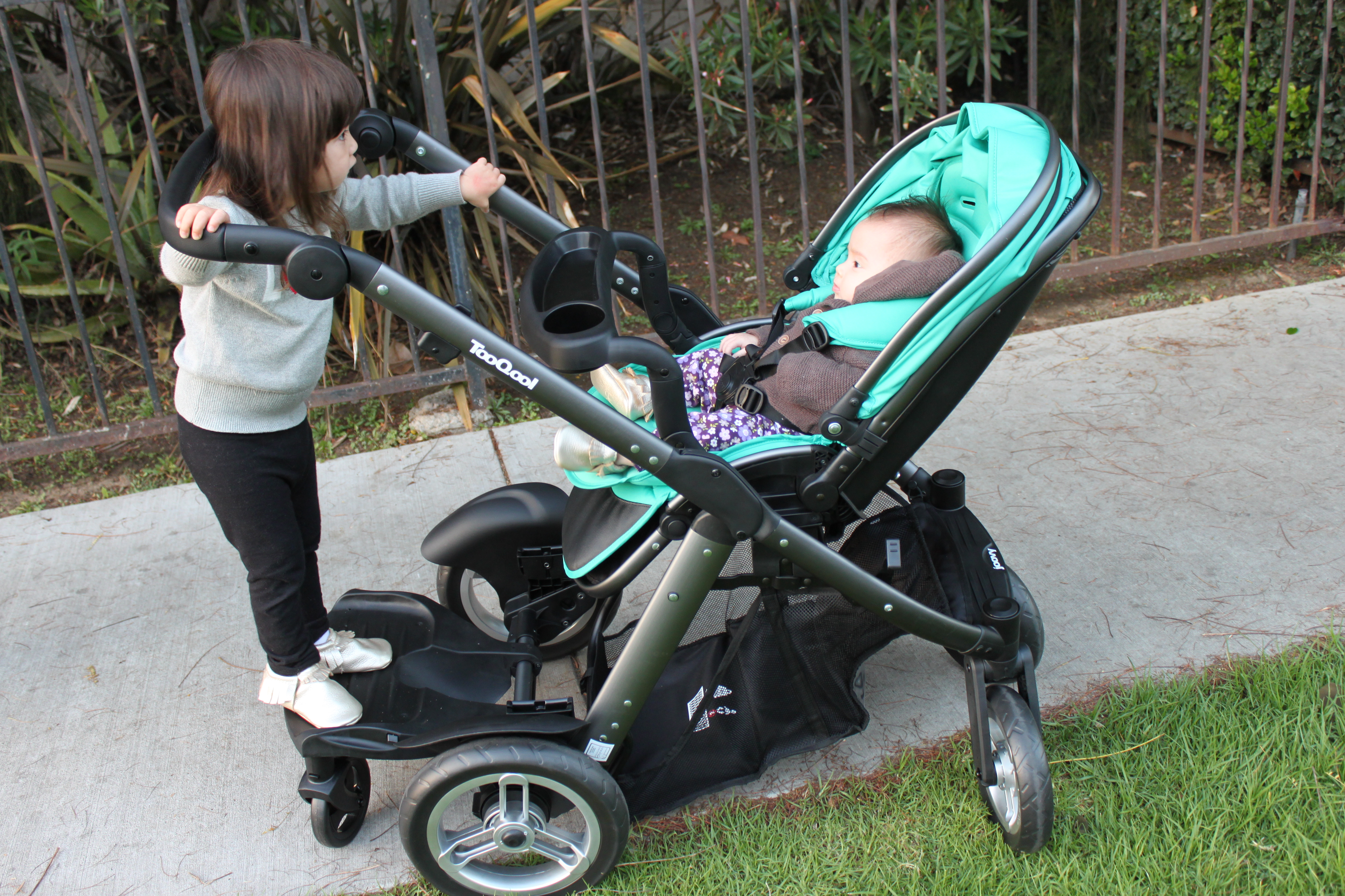 There S A New Double Stroller In Town Joovy Too Qool