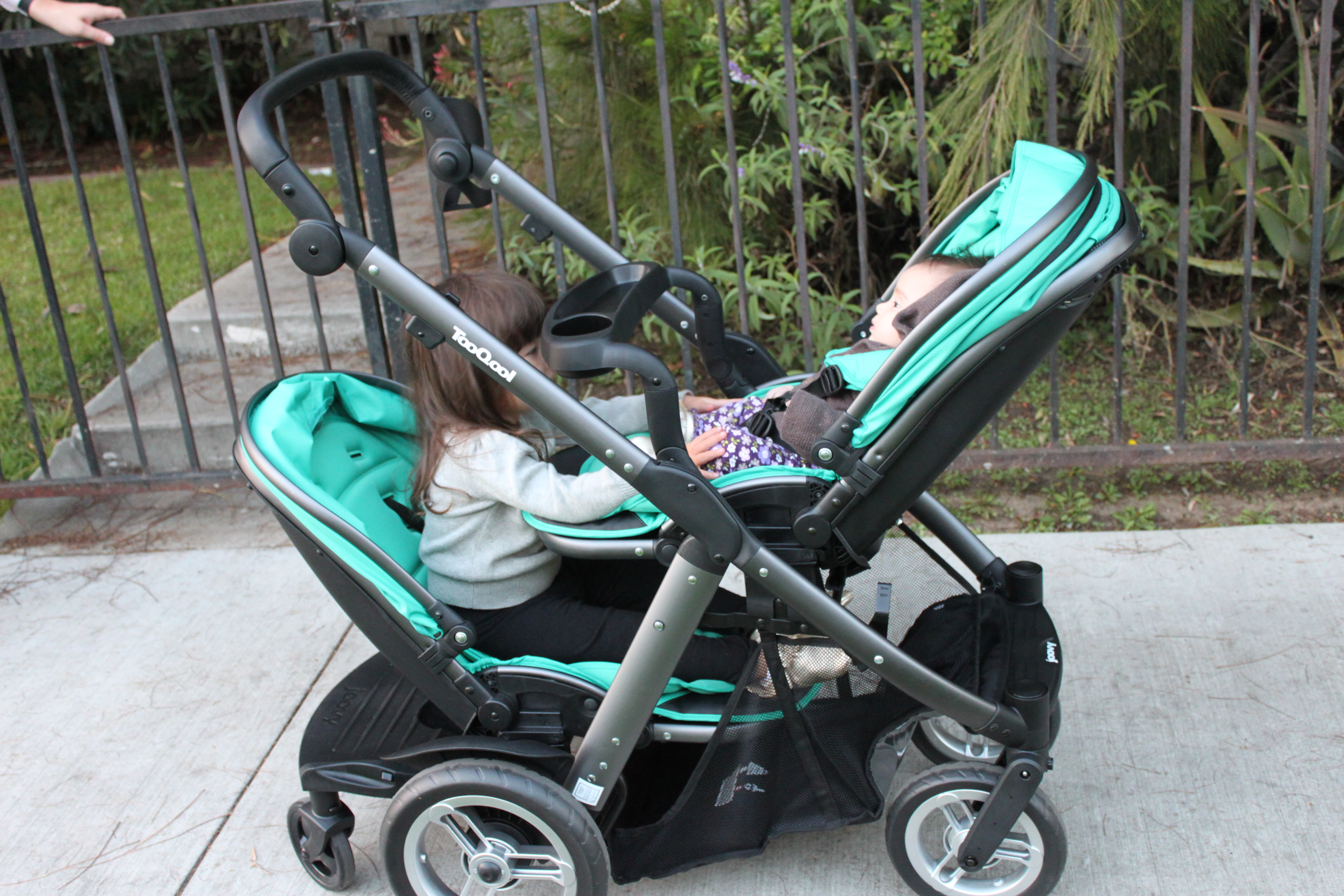 There's a new double stroller in town: Joovy Too Qool ...