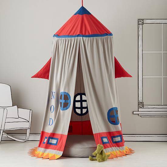 Land of Nod Rocket Tent