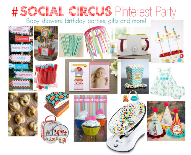 Social Circus Pinterest Party #2 PARTY