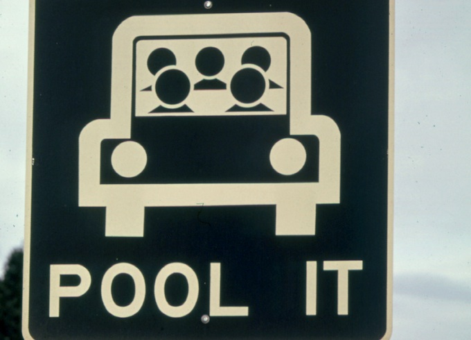 canadian carpool sign