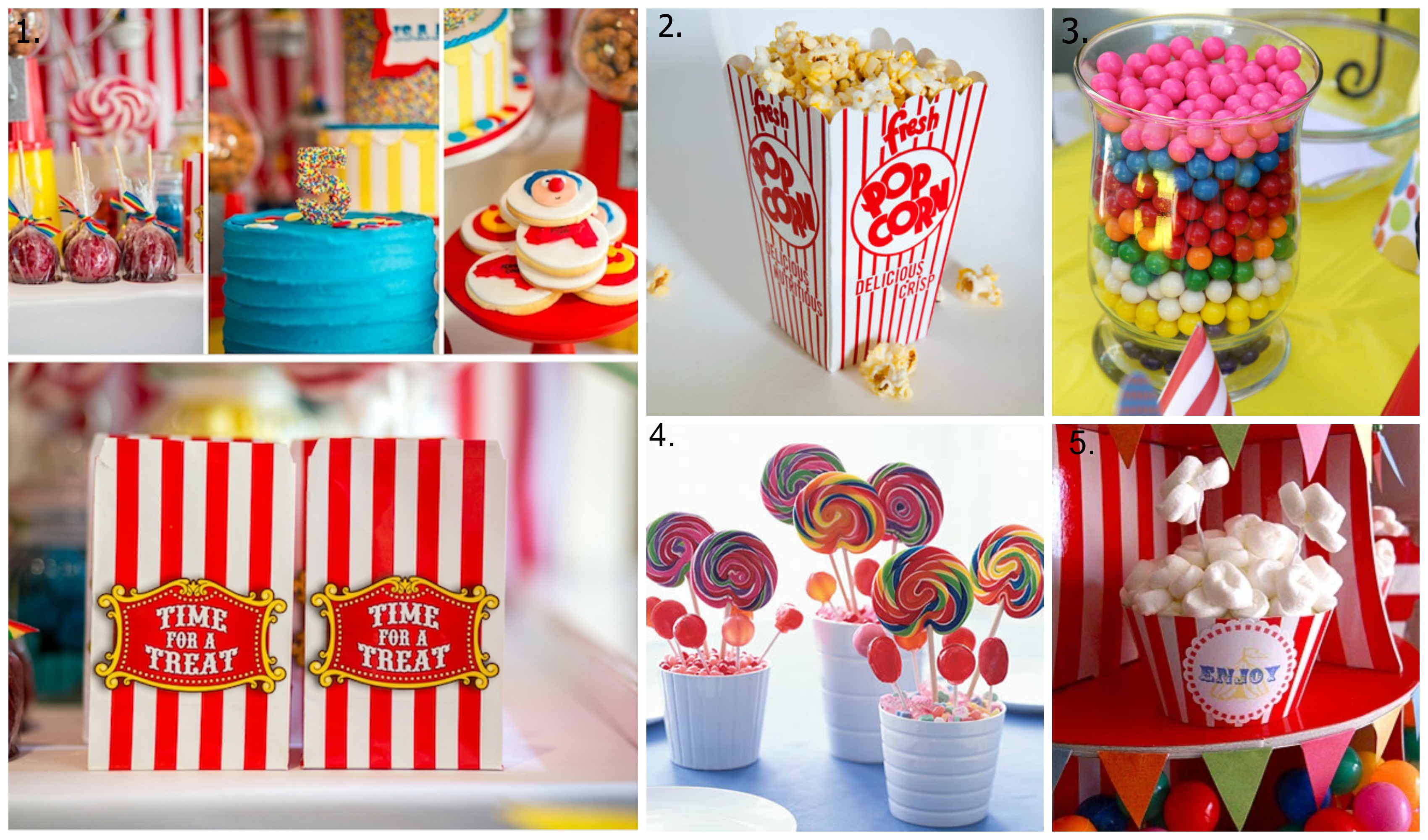 Circus Party Food Ideas  sc 1 st  gofood.site & 88+ Food Ideas For First Birthday Party - DIY Rainbow Birthday Party ...