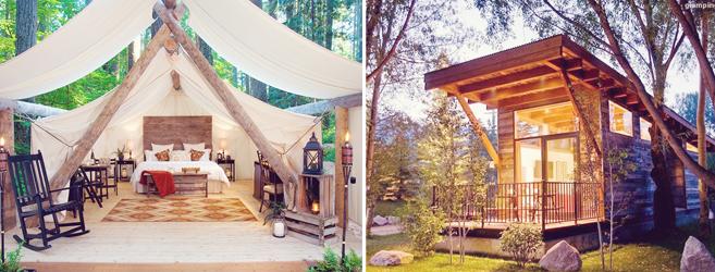 glamping hub | camping
