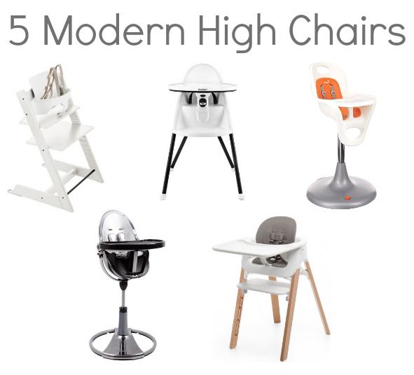 modern high chairs - Modern High Chair