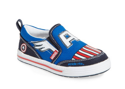 Stride Rite Captain America Shoes with Wings