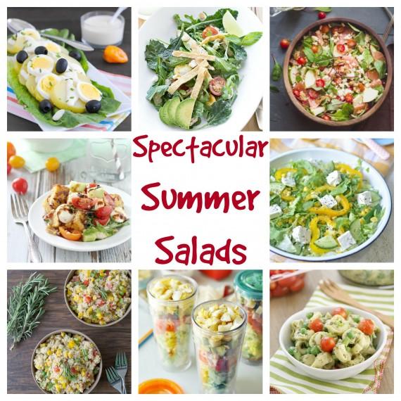 Spectacular summer salad roundup