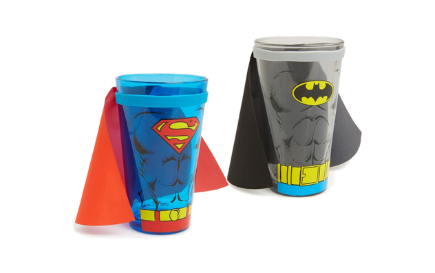 Superhero Cups with Capes