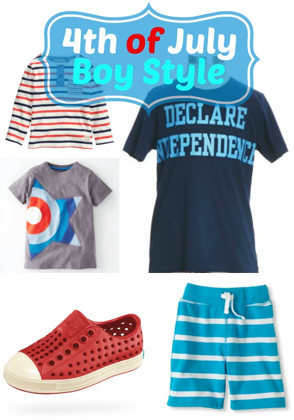 4th of July Boy Style