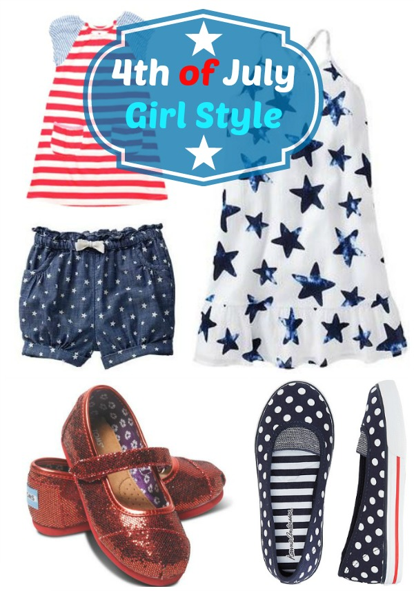 4th of July Girl Style