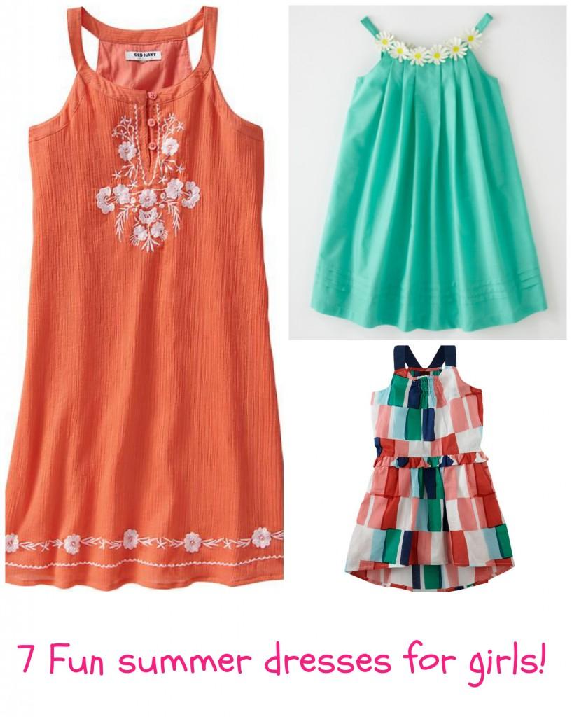 7 summer dresses for girls
