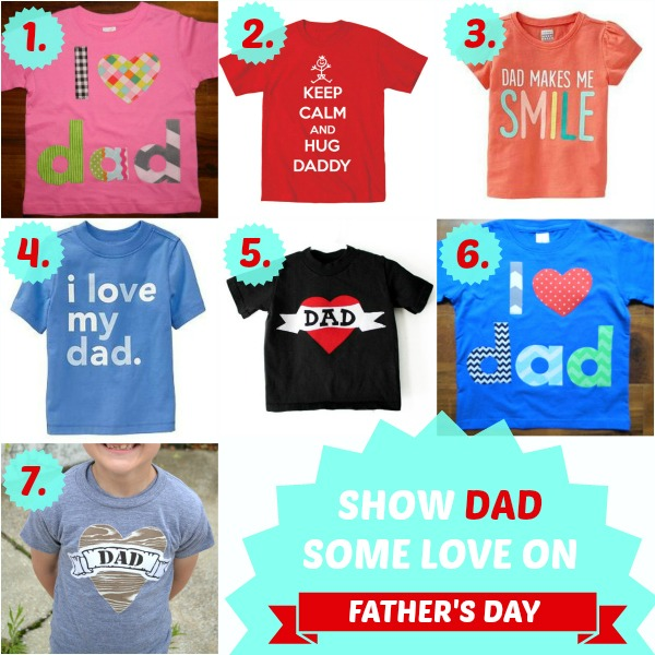 Fathers Day Shirts for Kids