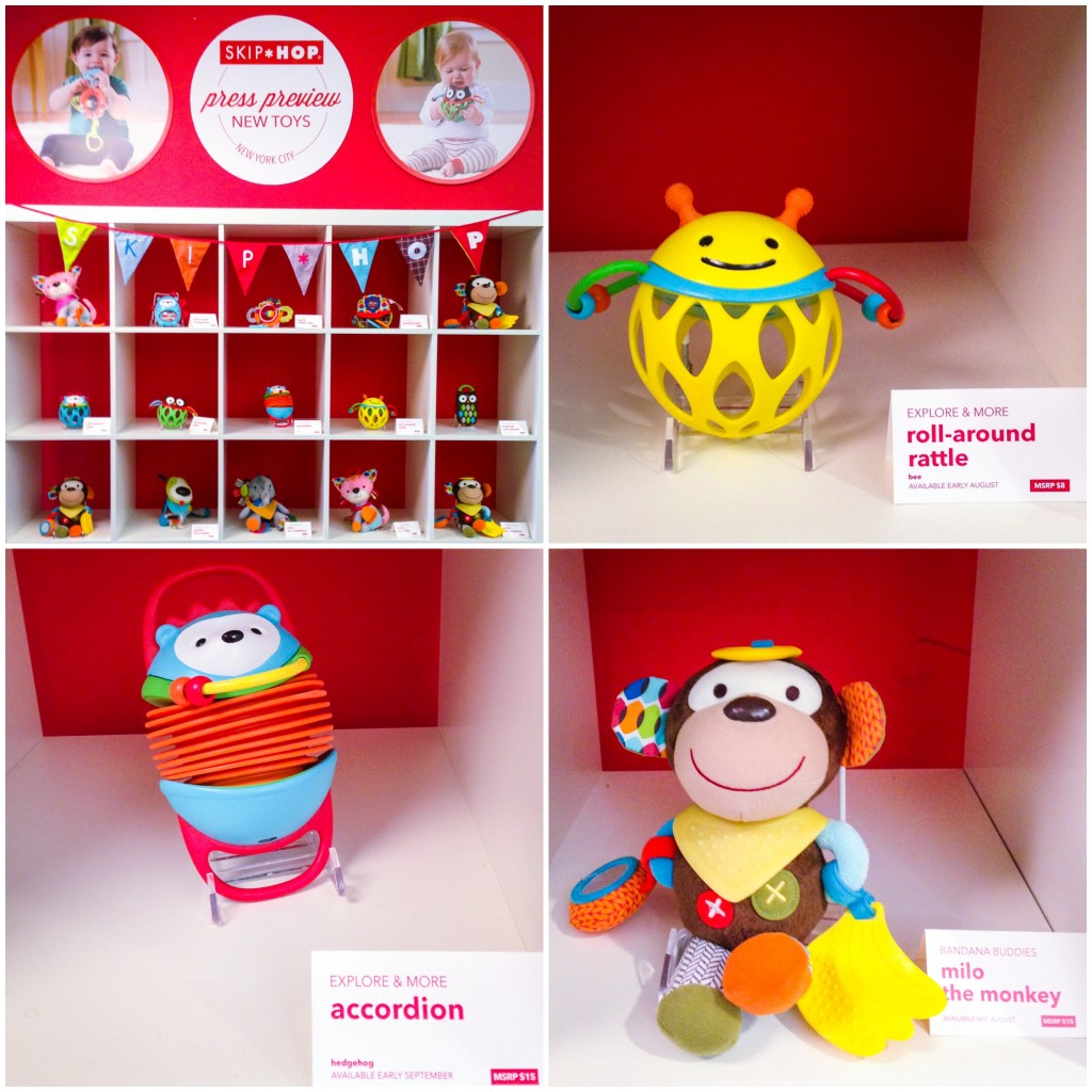New skip hop products toy collection