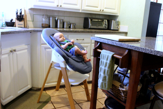 stokke steps with bouncer
