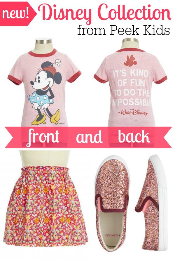 Disney Collection Peek Kids Girls