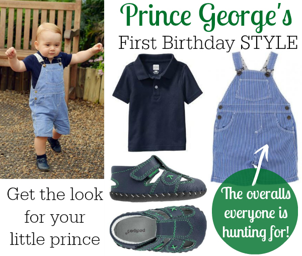 Prince George First Birthday Style